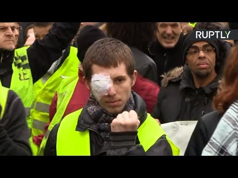 Yellow Vest protest in Paris: Act XII