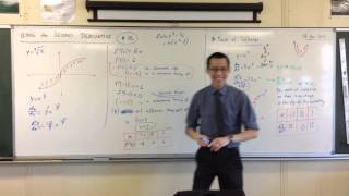 """Using the Second Derivative (5 of 5: Where the concavity changes but f""""(x) doesn't exist)"""