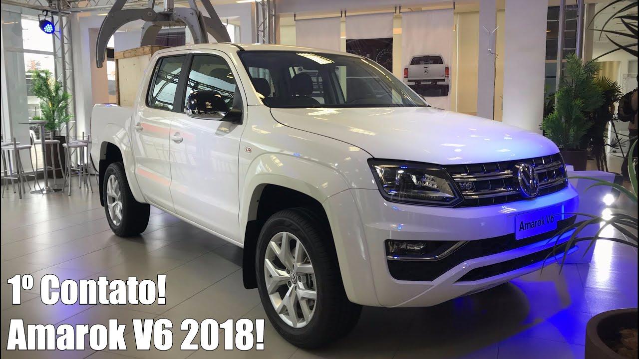 Volkswagen Amarok 2017 >> Volkswagen Amarok V6 2018 em Detalhes - Falando de Carro ...