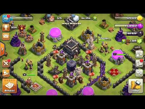 how to hack someones clash of clans id