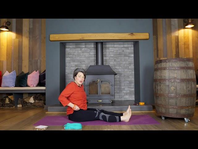 Holiday Yoga Series | 6 |  Marichyasana Sequence