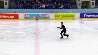 Произвольная программа Юноши Казань Кубок России по фигурному катанию 2020 21