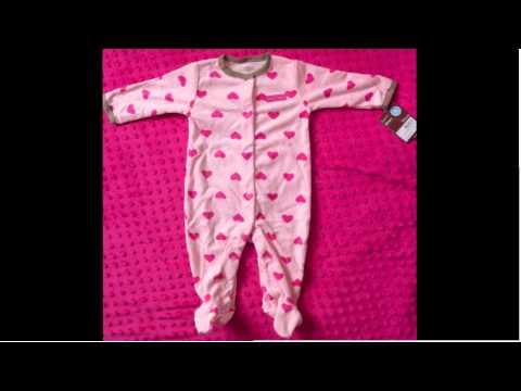44cbf36b29 Pijamas Carters Niños y Niñas - YouTube