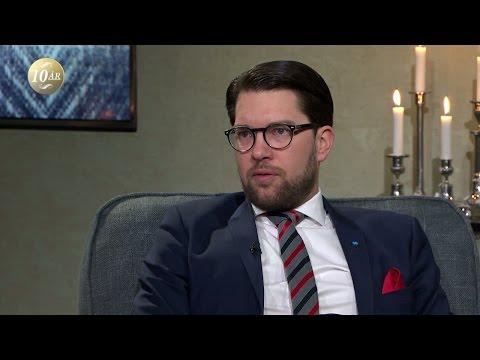 Jimmie kesson om hatsvansen - Malou Efter tio (TV4)
