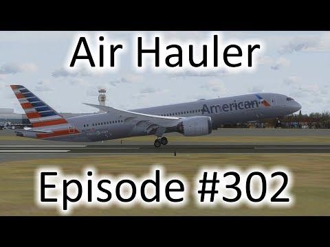 FSX | Air Hauler Ep  #209 - Guadalajara to Midland | 777F by