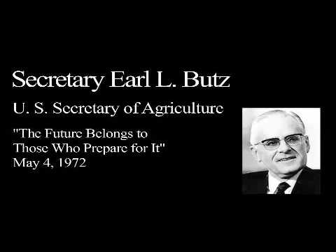 Landon Lecture | Earl L. Butz - audio only