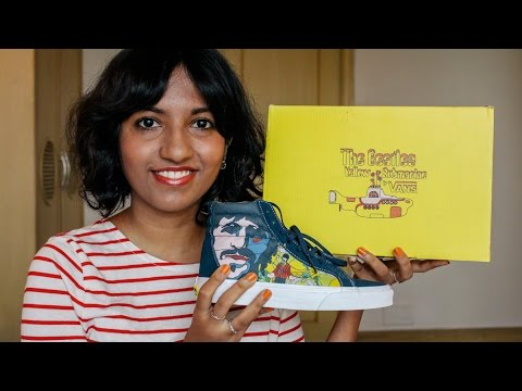 baf3cff403 Vans x The Beatles Yellow Submarine Sk-8 Hi Reissue Shoe Unboxing    Magali  Vaz