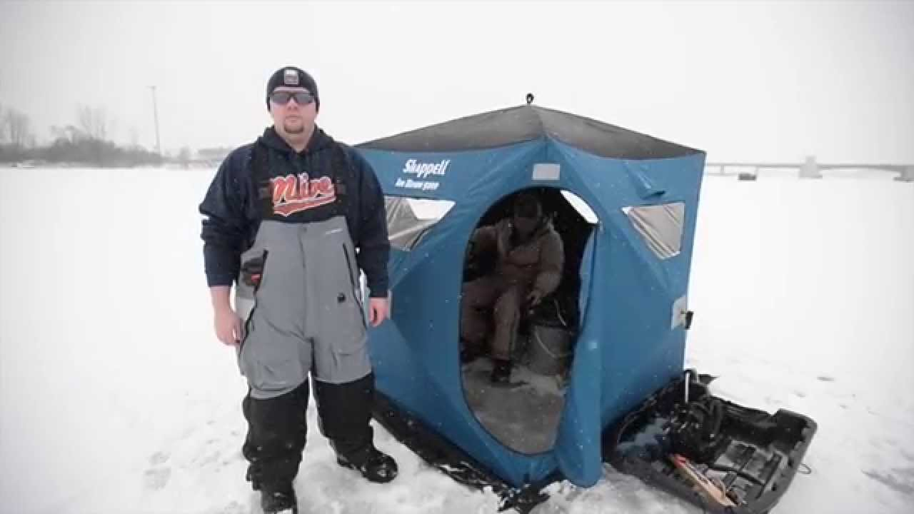 Catching walleye while ice fishing near the uss edson on for Saginaw river fishing report