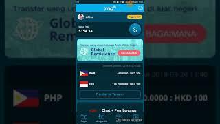 versi baru TNG .tutorial pengiriman uang dari applikasi TNG wallet versi 4.0.0