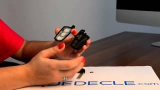 Télécommande, clé BMW 3 boutons E38, E39, E46, M5, M3, X3, X5, Z4, Serie 3/5/7