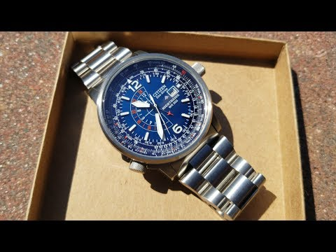 Citizen Nighthawk Blue Dial - Two Big Hidden Suprises!
