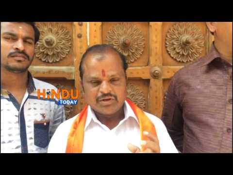HINDU TODAY NEWS EXCLUSIVE On VHP and Bajrangdal Karyakartas Dharna at Abids Circle, Hyderabad, Tela