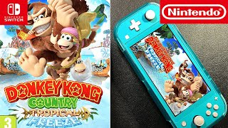Donkey Kong   Unboxing and Gameplay   Nintendo Switch Lite