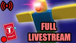 PewDiePie Playing ROBLOX (FULL LIVESTREAM)