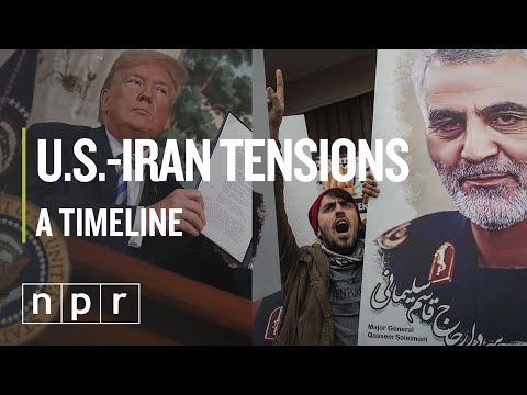 Timeline: From Nuclear Deal To Conflict With Iran | NPR
