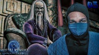 Mortal Kombat Shaolin Monks Story Mode Part 3 - WU SHI ACADEMY