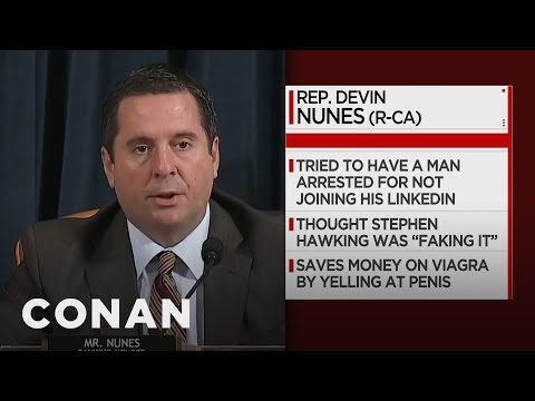 Impeachment Committee Facts: Devin Nunes Edition - CONAN on TBS