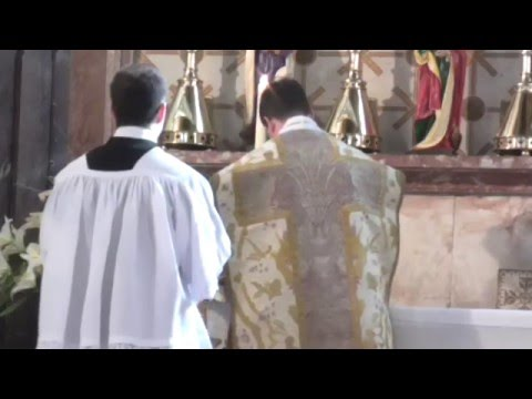 Tridentine Low Mass.  Dominica in Albis 03.04.2016