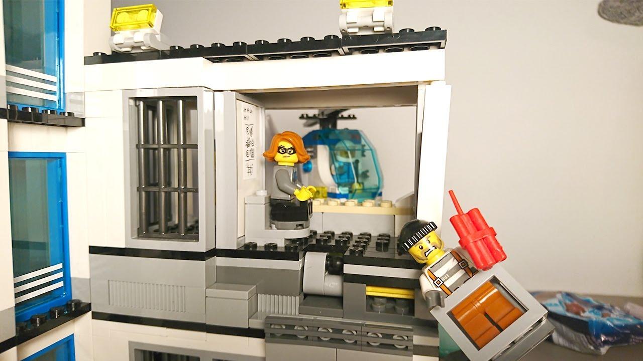 Ucieczka Z Więzienia Posterunek Policji Lego City Youtube