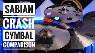 Sabian Crash Cymbal Comaprison : Bearded Drums (Episode 52)