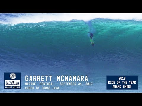 Garrett McNamara at Nazaré - 2018 Ride of the Year Award Entry - WSL Big Wave Awards