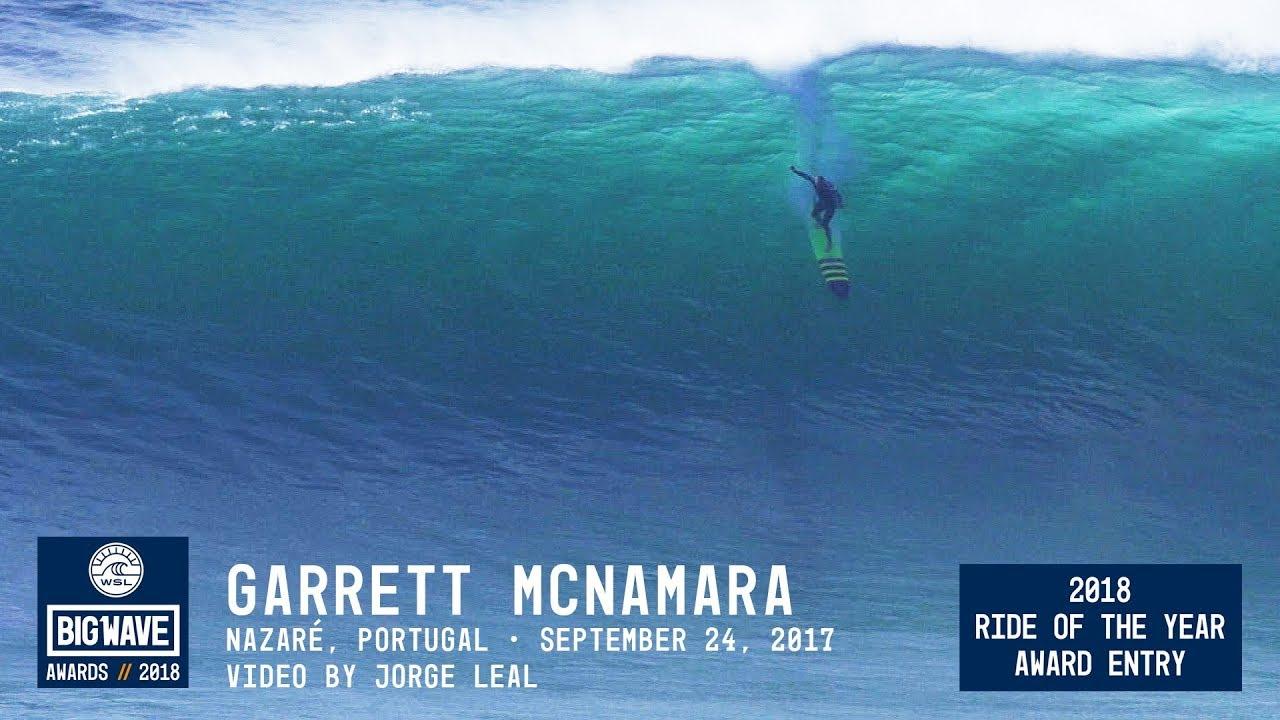 Surfer nazare 2018