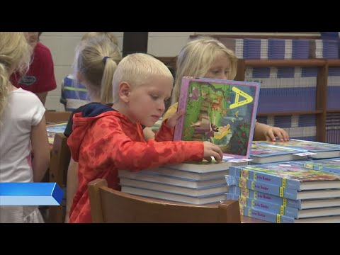 Book Donation at Breakfast Point Academy