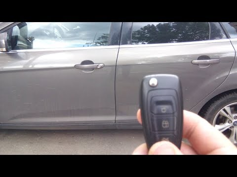 Разгадка тайны штатного брелока сигнализации Форд Фокус 3