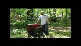 1940's David Bradley Walk-Behind Tractor