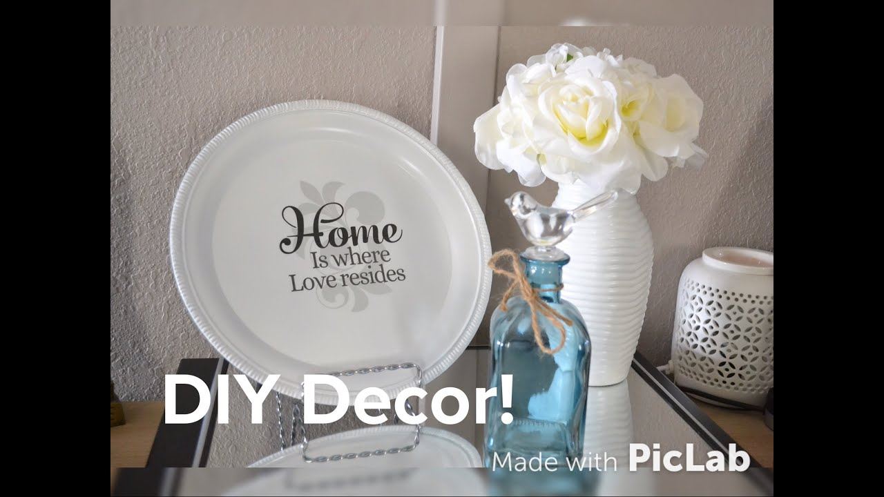 Dollar tree diy plato decorativo ideas para decorar tu - Articulos de hogar baratos ...