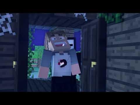 A Hajsza - Minecraft Animáció [MAGYAR SZINKRON]