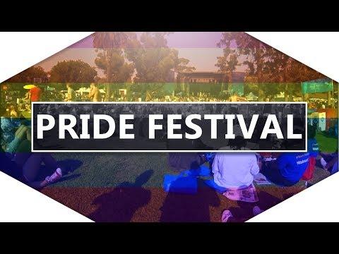 San Diego Pride music festival 2017 - LGBT party USA - Marston point - California, USA video