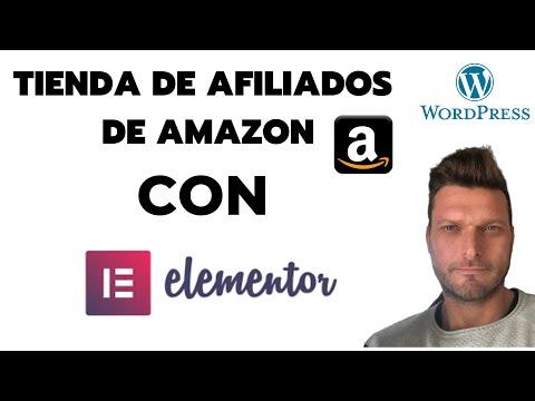 ✅ TSA - CREAR TIENDA DE AFILIADOS DE AMAZON CON WORDPRESS Y ELEMENTOR ???? thumbnail
