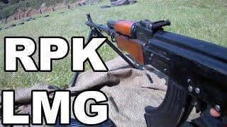 RPK light machine gun. Full auto fun.