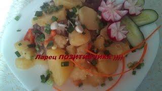 Утка тушёная с овощами В МУЛЬТИВАРКЕ  БЫСТРО И ВКУССНО