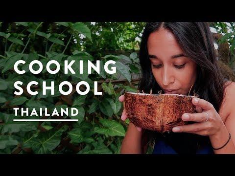 COOKING CLASS CHIANG MAI - THAI SECRET COOKING SCHOOL | Thailand Travel Vlog 53