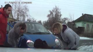 Баба за рулем, или как Матиз мне обновил машину! , авария, дтп, не утсупил
