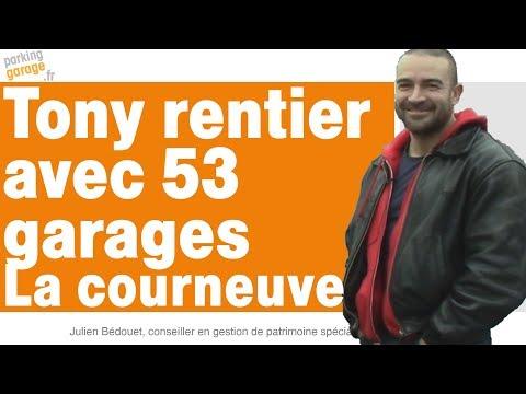Tony investit dans 53 garages à la Courneuve