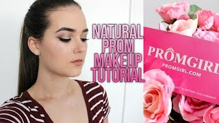Natural Prom Makeup Tutorial + Dresses! | Reese Regan & PromGirl