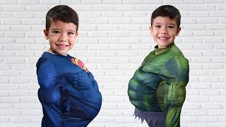 NÓS COMEMOS DEMAIS!!! We ate too much | Video for kids