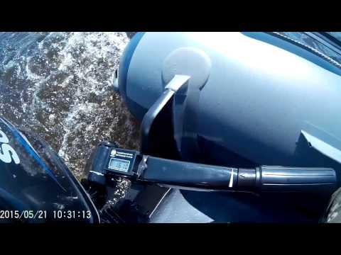 Обкатка Флагман 350 + Suzuki DT15AS
