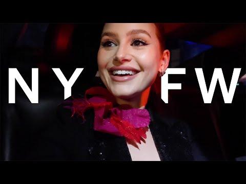 New York fashion week   Madelaine Petsch