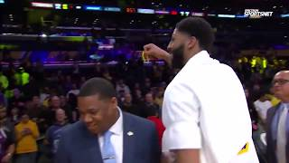 Anthony Davis postgame interview | Lakers vs Timberwolves