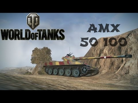AMX 50 100 Heavy Tank Review, Guide  + Gameplay - World of Tanks