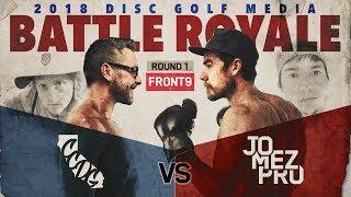 CCDG vs Jomez Pro | BATTLE ROYALE | Front 9