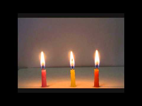 Time Lapse - Candle Life.