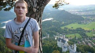 Лучший вид на самый красивый замок Европы Нойшванштайн, открывается с горы Тегельберг.(Если вы обычный турист, как мы, оказавшийся в Германии, вы можете посетить самый красивый замок, в Баварии,..., 2015-06-03T12:58:34.000Z)