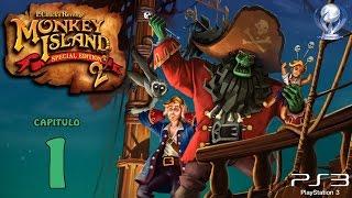 Monkey Island 2 Lechuck´s Revenge (Gameplay en Español, Ps3) Capitulo 1 El Embargo de Largo
