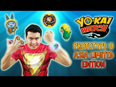 KungFu NYAN GOLD MEDAL~ DX Yo-kai Watch Prototype U Asia Limited Edition Version Unboxing and Review