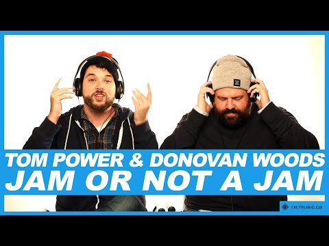 Tom Power & Donovan Woods play 'Jam or Not a Jam?'
